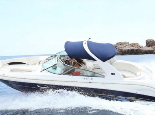 Ibiza Bareboat Renatl of Sea Ray Bow Rider