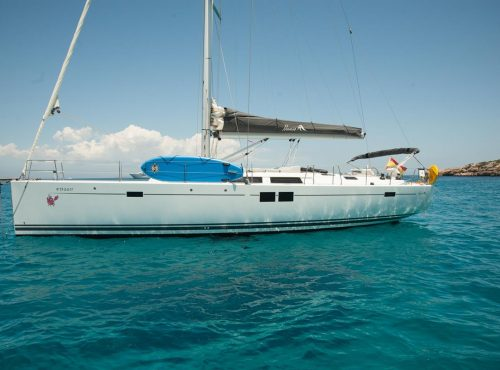 Ibiza Sailboats rental Hanse 505