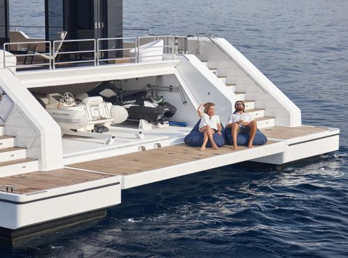Ibiza luxury catamaran in Charter