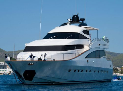 Ibiza yacht AMER CRAFT 88 rental with 6 cabins