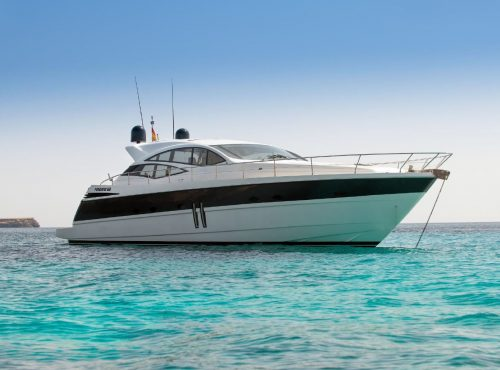Ibiza rent yacht Pershing 62 with 3 cabins