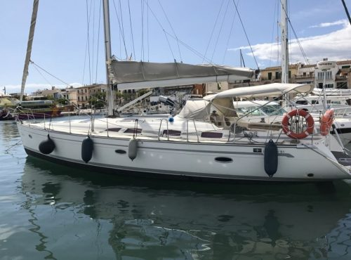 Sailboat Rental with 4 cabins in Ibiza