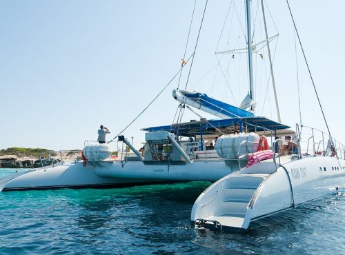 Boat for events in Ibiza
