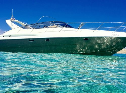 Ibiza Motorboat for rent Cranchi 39 Endurance with one cabin
