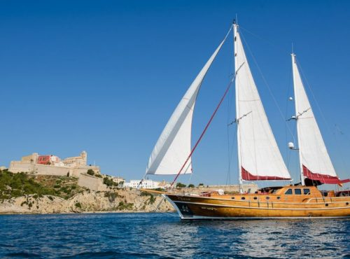 Ibiza Hire Gulet with 4 cabins