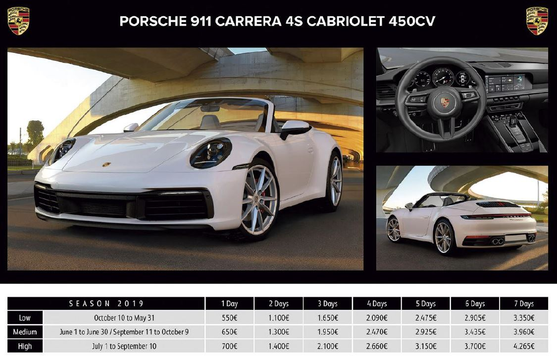 LUXURY CAR RENTAL IBIZA