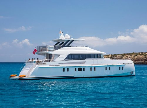 Yacht Rental Vanquish 82 with 4 cabins