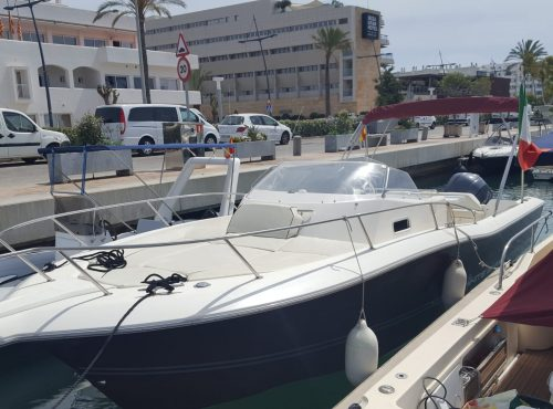 WHITE SHARK 298 Boot in Marina Ibiza